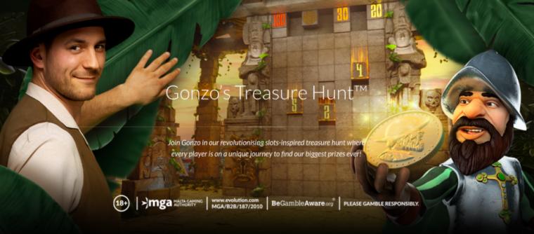 Perburuan Harta Karun Gonzo dari Evolusi